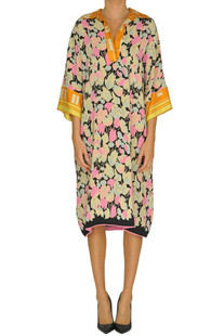Silk tunic dress Dries Van Noten