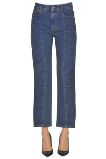 Jeans with gathering Stella McCartney