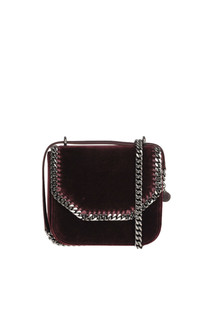 Falabella Box Medium velvet bag Stella McCartney