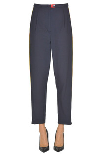 'Rubie' cotton trousers Pinko