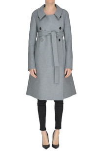 Double-breasted coat Rochas