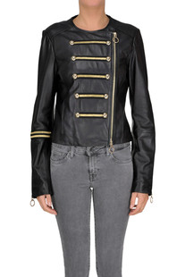 'Pescaccia' leather jacket Pinko