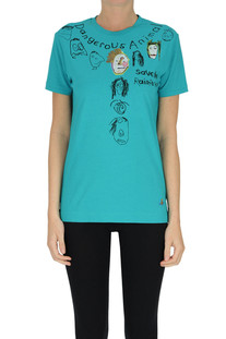Printed cotton t-shirt Vivienne Westwood