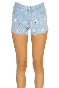 Cut-out denim shorts Ermanno by Ermanno Scervino