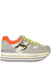 H403 wedge sneakers Hogan