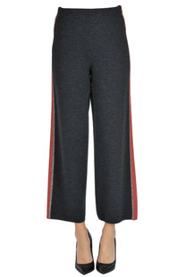 Knitted trousers D.Exterior