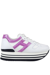 Maxi 222 H283 wedge sneakers Hogan