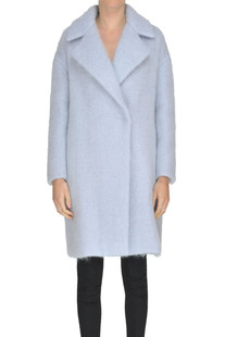 Mohair-blend coat Il Cappottino