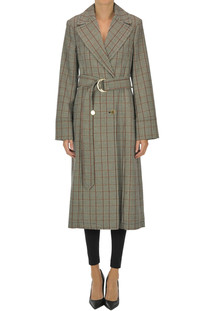 Prince of Wales double-breasted coat Stella McCartney