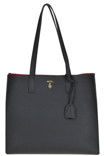 Leather shopping bag Mark Cross