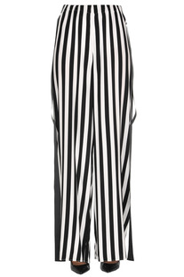 Striped silk trousers Federica Tosi
