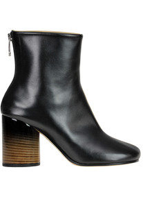 Bicoloured leather ankle-boots Maison Margiela