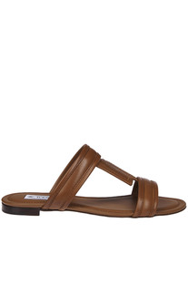 Leather T slides Tod's