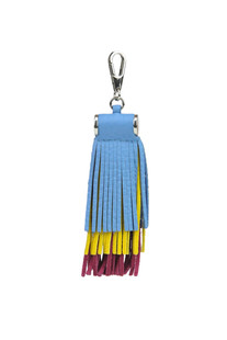 'Soft trio' leather charm Orciani