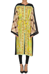 'Ramidos Bis' silk coat Dries Van Noten