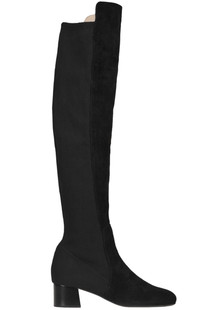 Over the knee suede boots Maliparmi