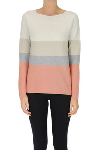 Striped pullover with lurex Fabiana Filippi