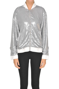 Sequined bomber Iro