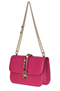 Studded leather shoulder bag Valentino