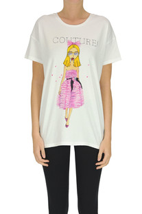 Limited edition printed t-shirt Alexandre Vauthier