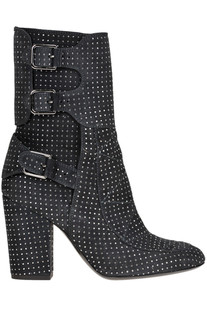 Merli studded suede boots Laurence Decade