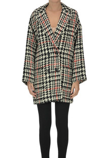 Houndstooth print caban RED Valentino