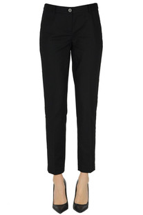 Cotton trousers Michael Michael Kors