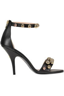 Embellished leather sandals Patrizia Pepe