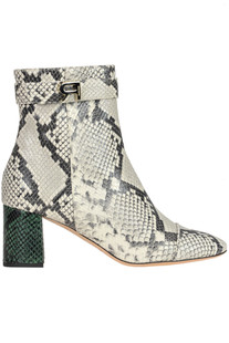 Reptile prit leather ankle botts Rochas