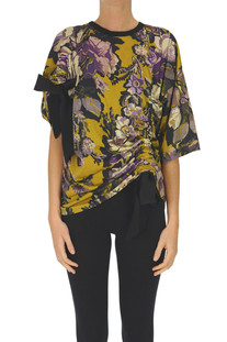 T-shirt stampa floreale Dries Van Noten