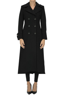 Double breasted wool coat NewYork Industrie