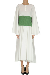 Cotton-blend long dress Loewe