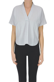 Striped cotton blouse Bellerose