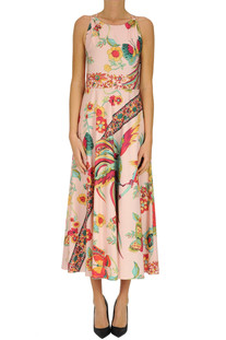 Printed cotton dress RED Valentino