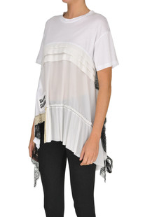 Lace inserts t-shirt Aniye By