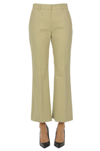 Chino cotton trousers MSGM
