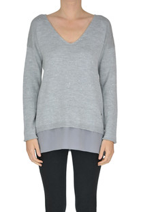 Sequined pullover Fay