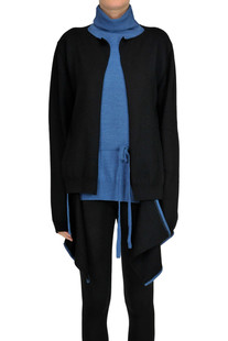 Pullover with built-in cardigan Loewe