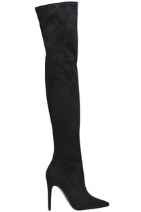 Ayla suede over the knee boots Kendall+Kylie
