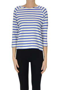 Striped cotton t-shirt Bellerose