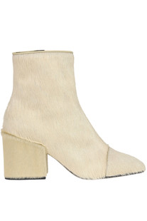 Haircalf ankle-boots Dries Van Noten