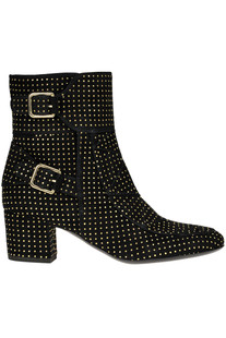 Babacar studded suede boots Laurence Decade