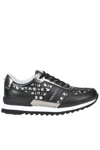 Cut-out leather sneakers Apepazza