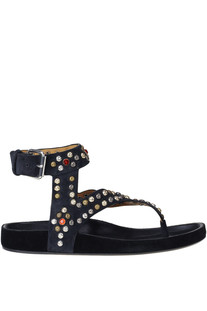 Embellished suede sandals  Isabel Marant