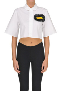 Cropped cotton shirt Dondup
