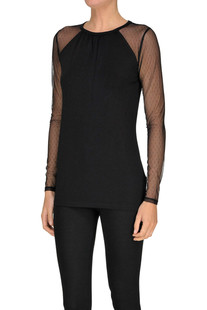 T-shirt with plumetis sleeves Michael Michael Kors