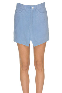 Suede mini skirt Dondup