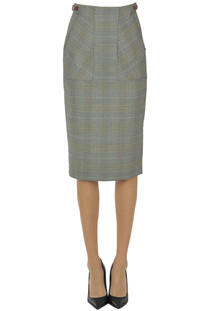 Cesi prince of Wales pencil skirt Sportmax