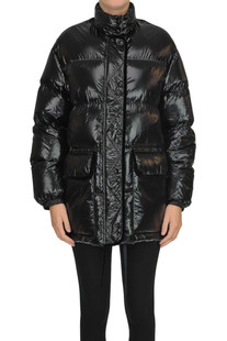 Oversized quilted down jacket RED Valentino