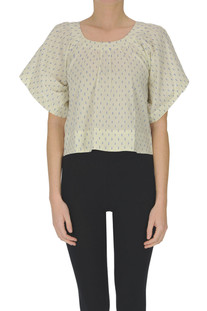 Cropped cotton top Bellerose
